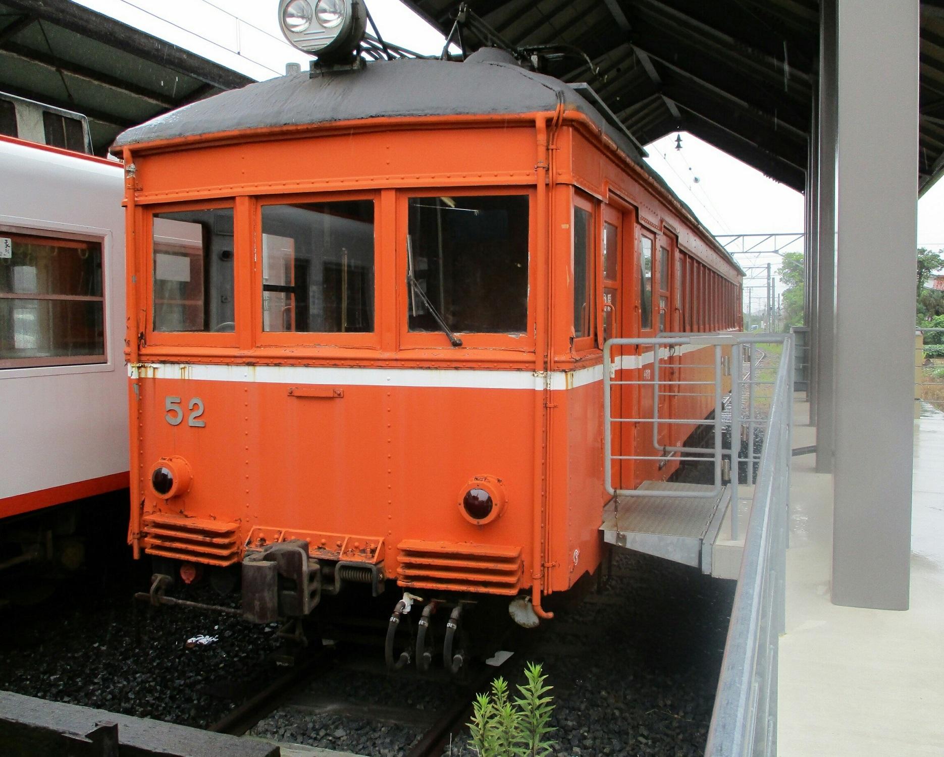 2018.7.6 (126) 出雲大社前 - デハニ50がた52号車 1870-1500
