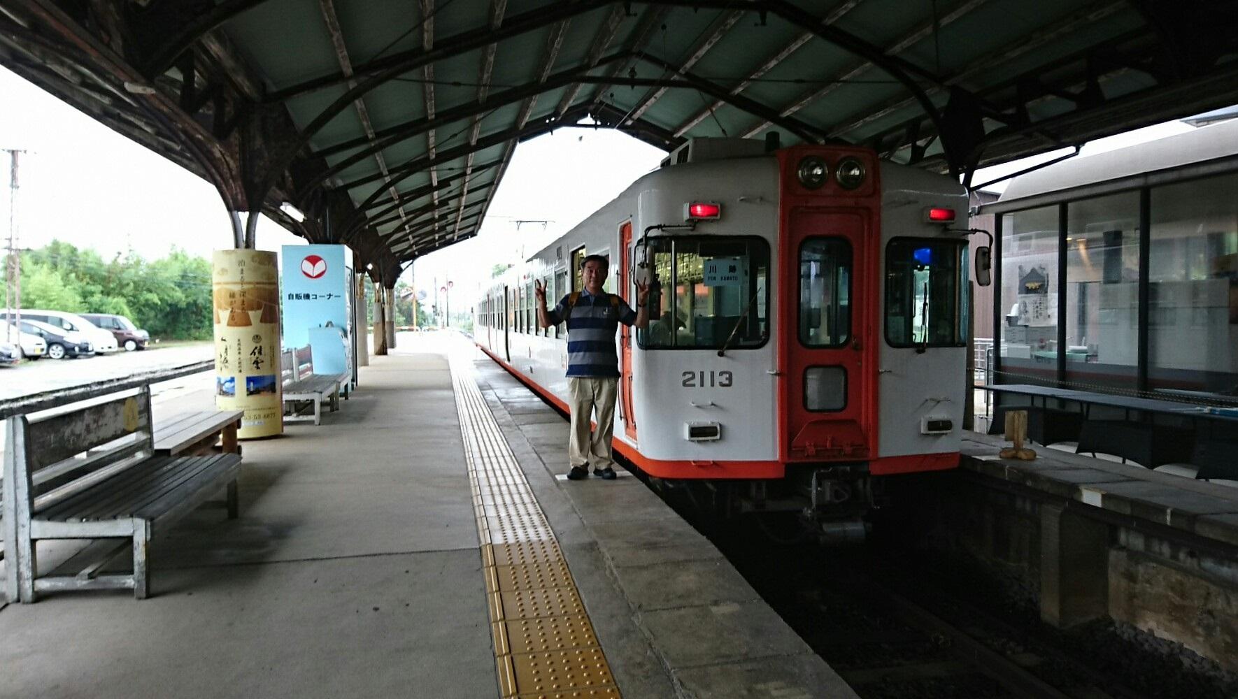 2018.7.6 (131あ) 出雲大社前 - 川跡いきふつう 1770-1000