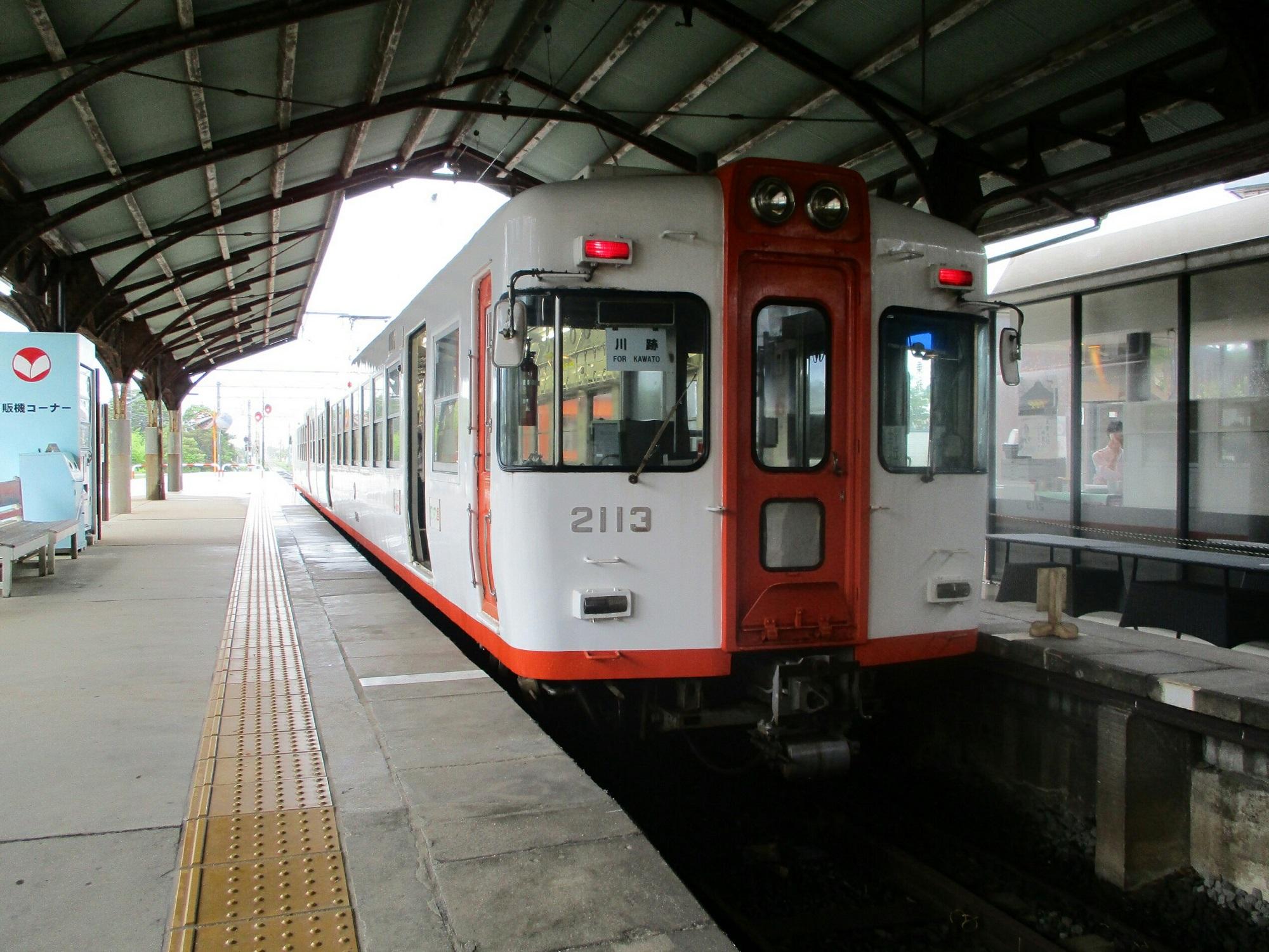 2018.7.6 (132) 出雲大社前 - 川跡いきふつう 2000-1500