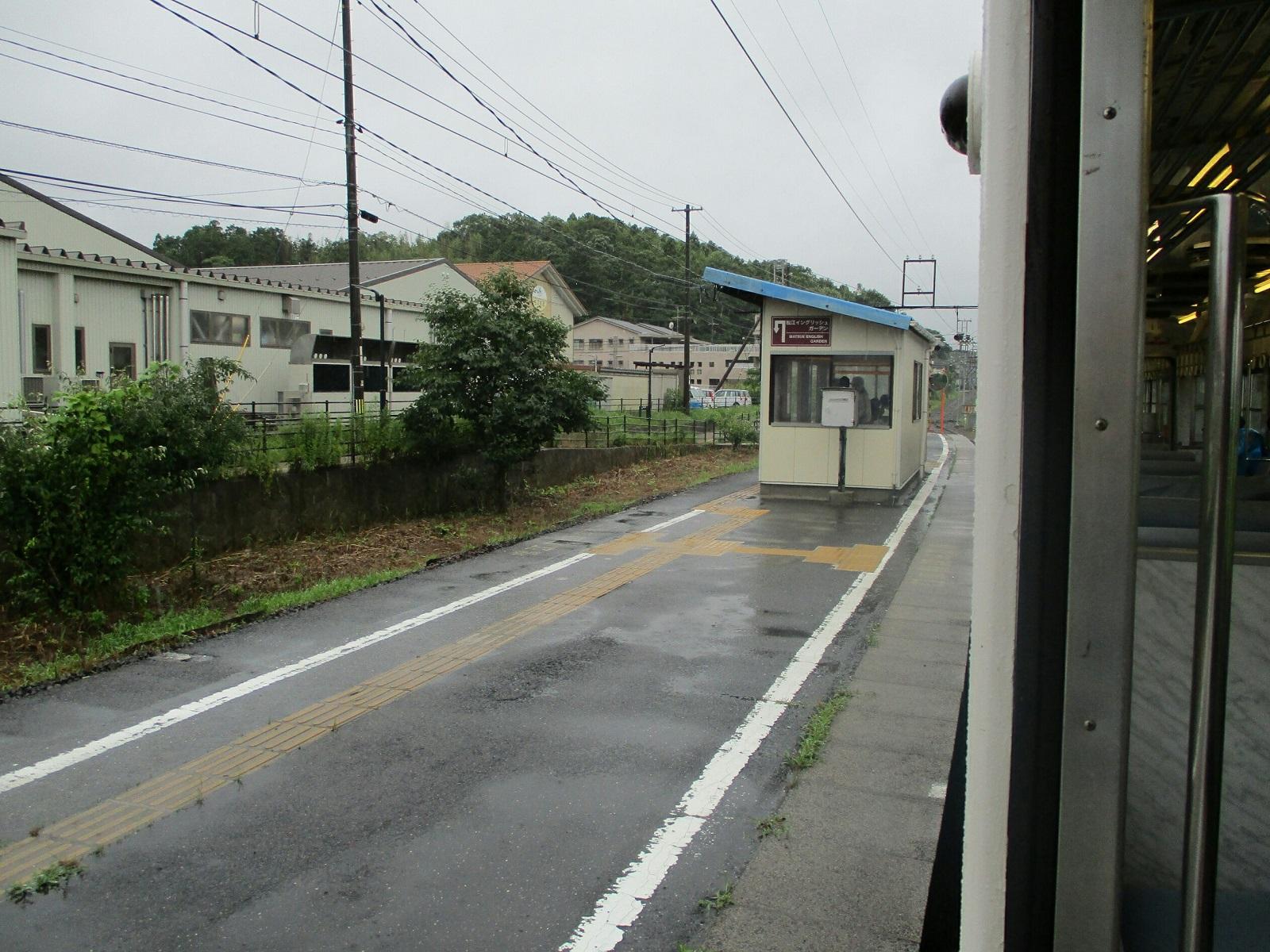 2018.7.6 (180) 松江しんじ湖温泉いきふつう - 松江イングリッシュガーデン前 1600-1200