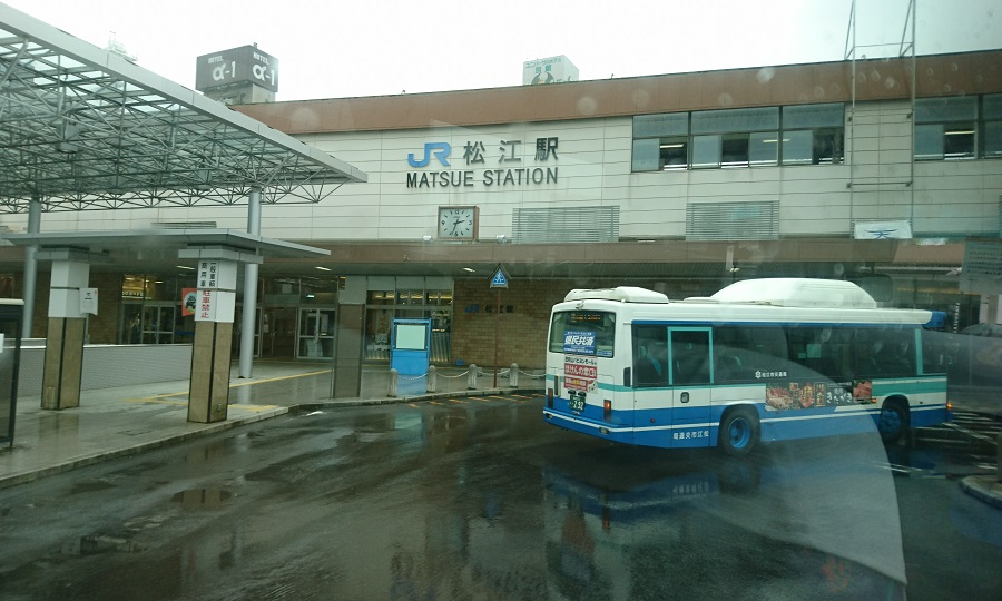 2018.7.7 (58) 出雲空港いきバス - JR松江駅 900-540