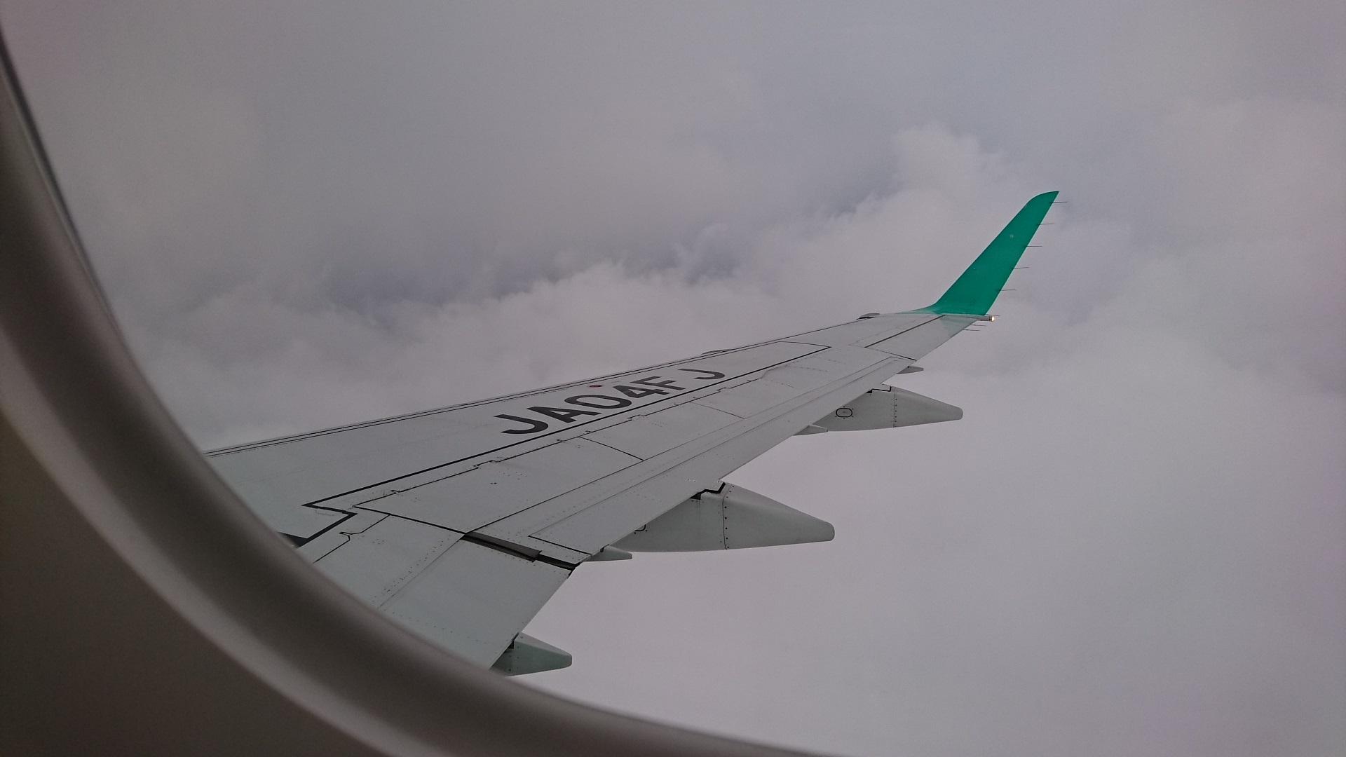 2018.7.7 (61) FDA名古屋空港いき - 兵庫県上空 1280-720