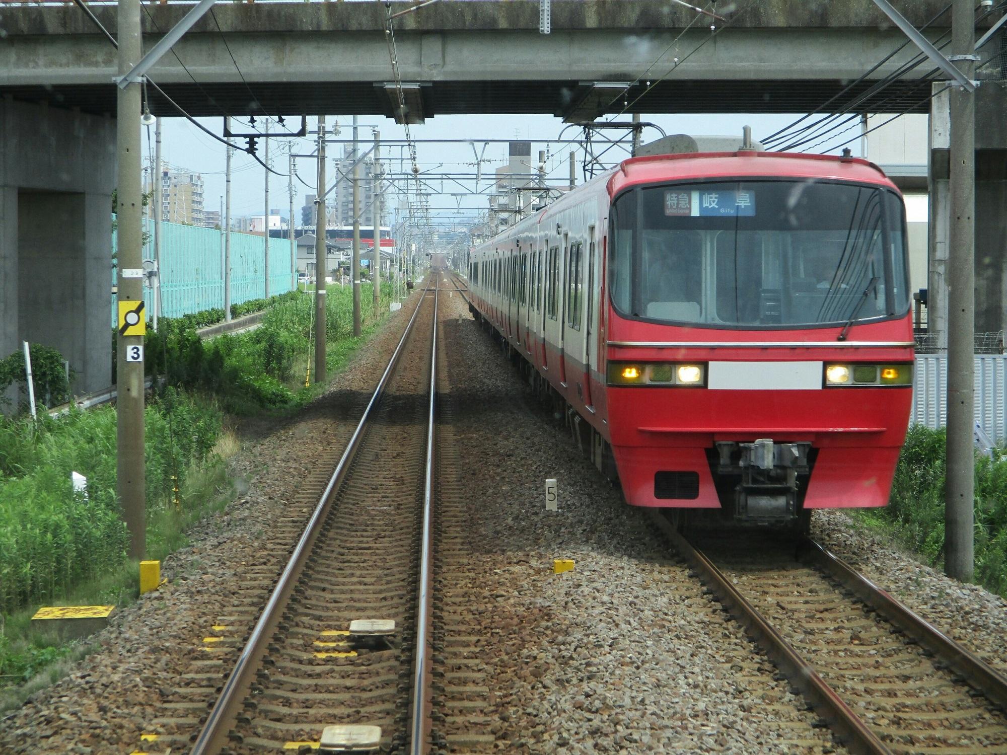 2018.7.11 (7) 東岡崎いきふつう - 宇頭-矢作橋間(岐阜いき特急) 2000-1500