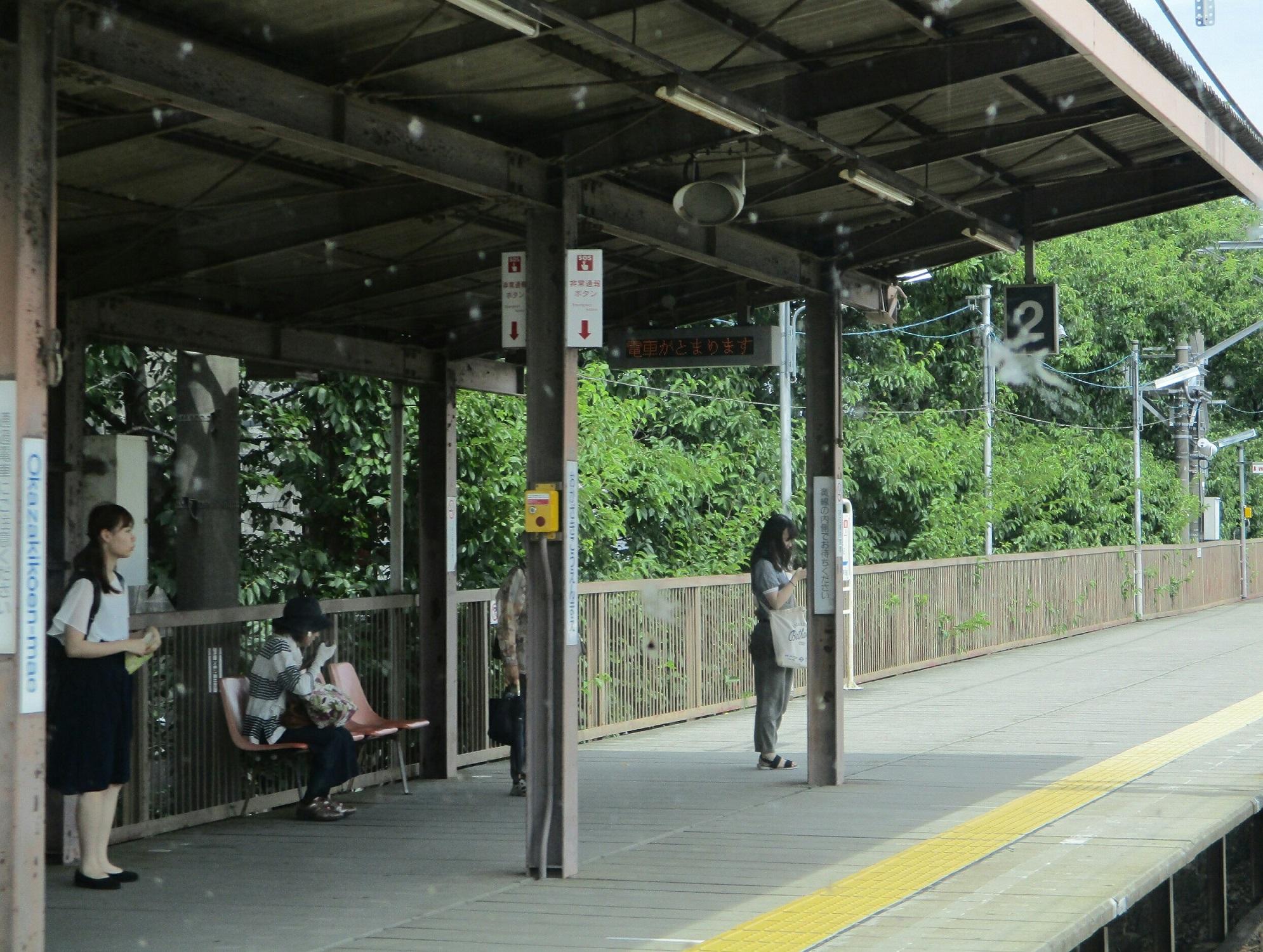 2018.7.11 (13) 東岡崎いきふつう - 岡崎公園前 1990-1500