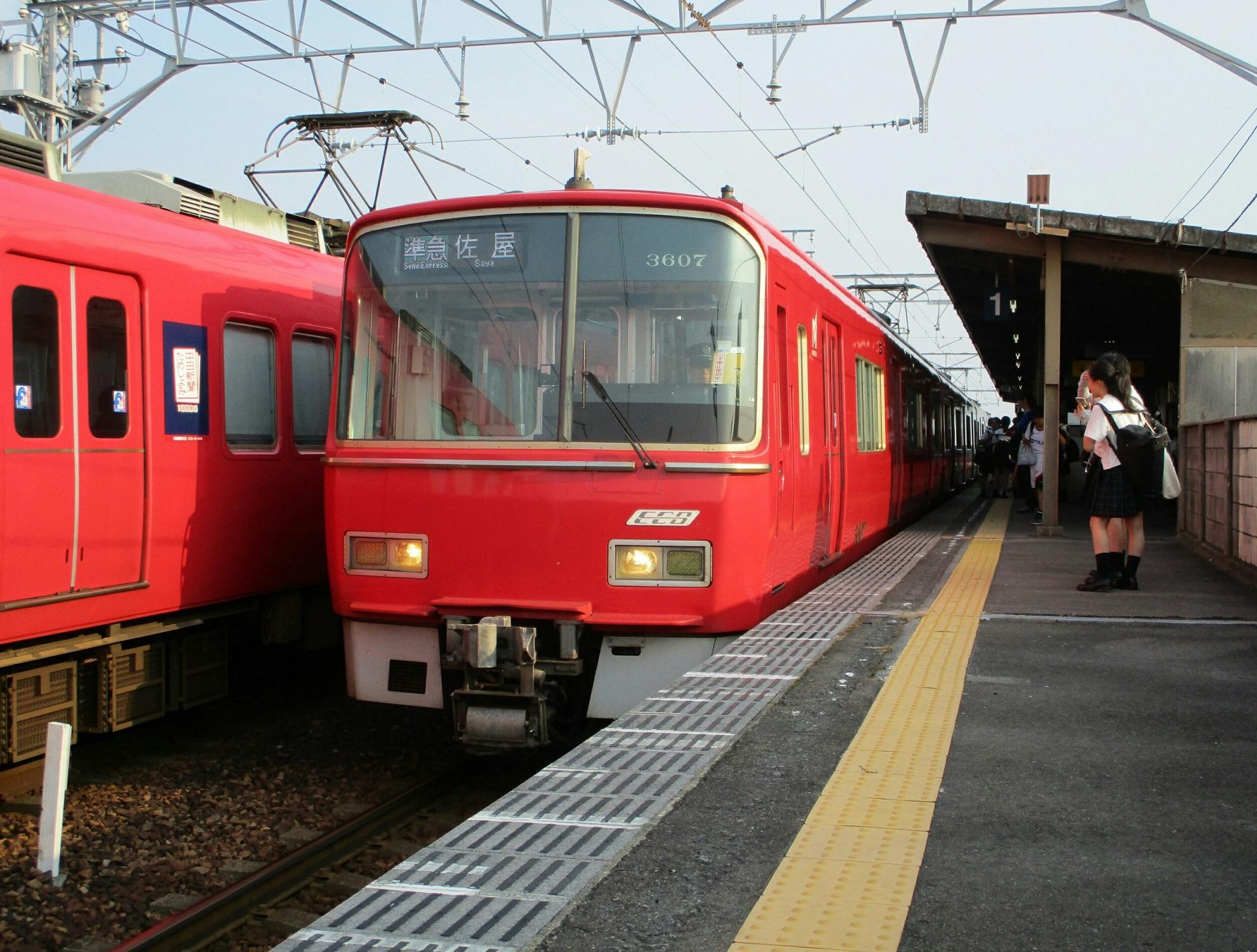 2018.7.17 (102) みなみあんじょう - 佐屋いき準急 1980-1500