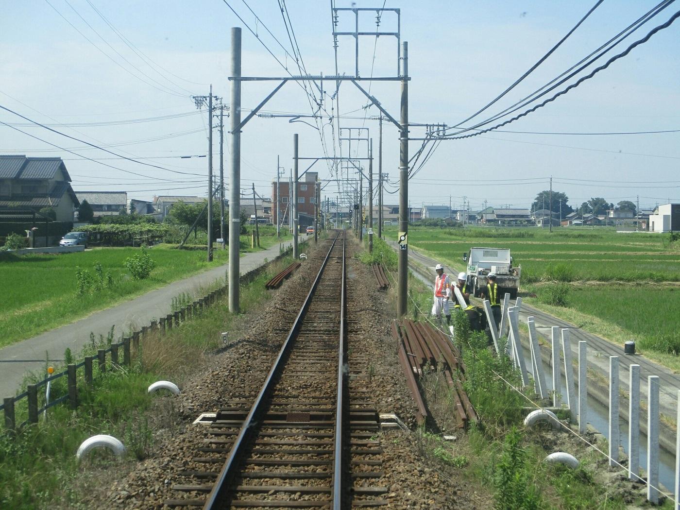 2018.7.18 (37) 新羽島いきふつう - 柳津-南宿間 1400-1050