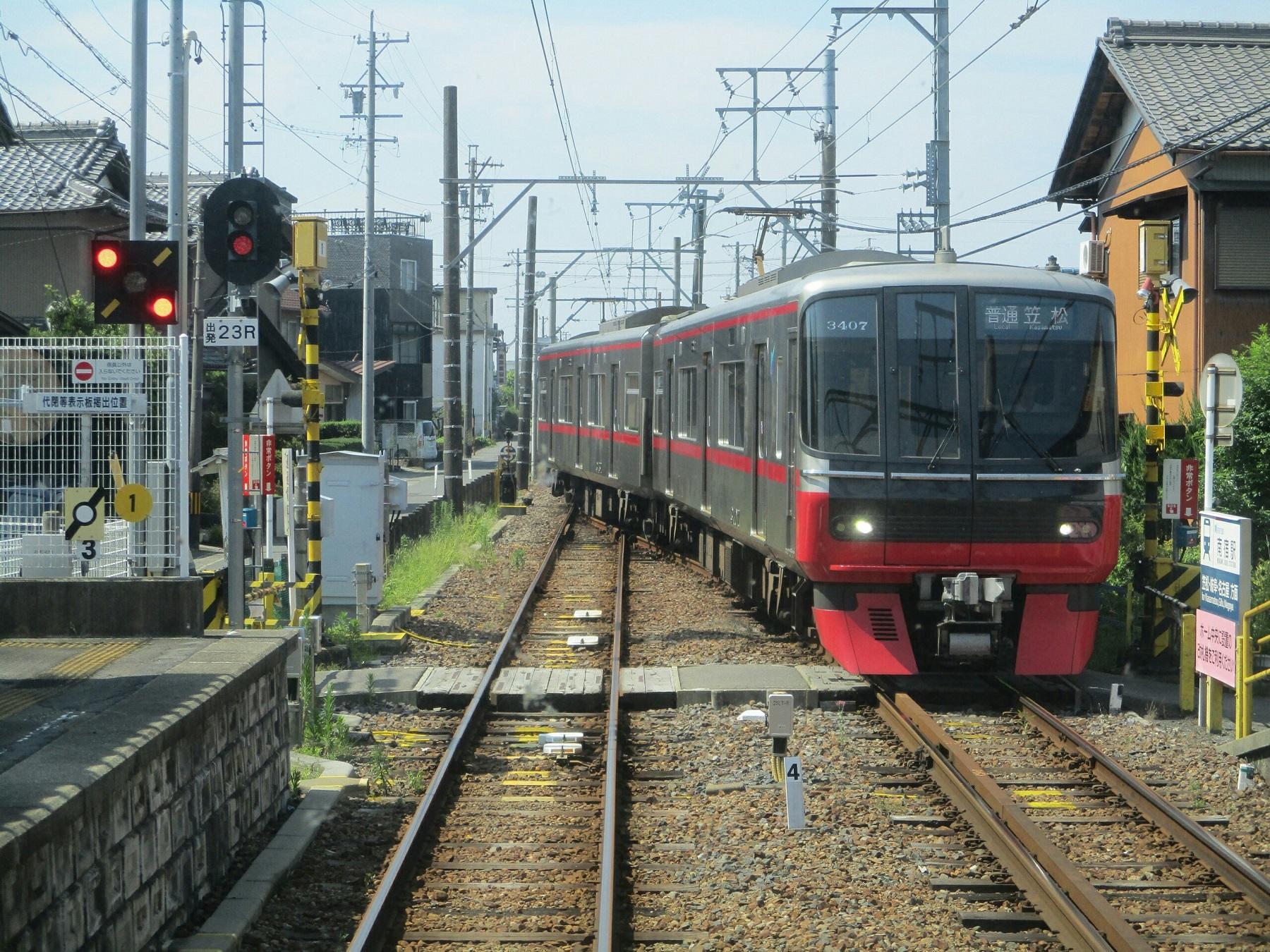 2018.7.18 (40) 新羽島いきふつう - 南宿(笠松いきふつう) 1800-1350