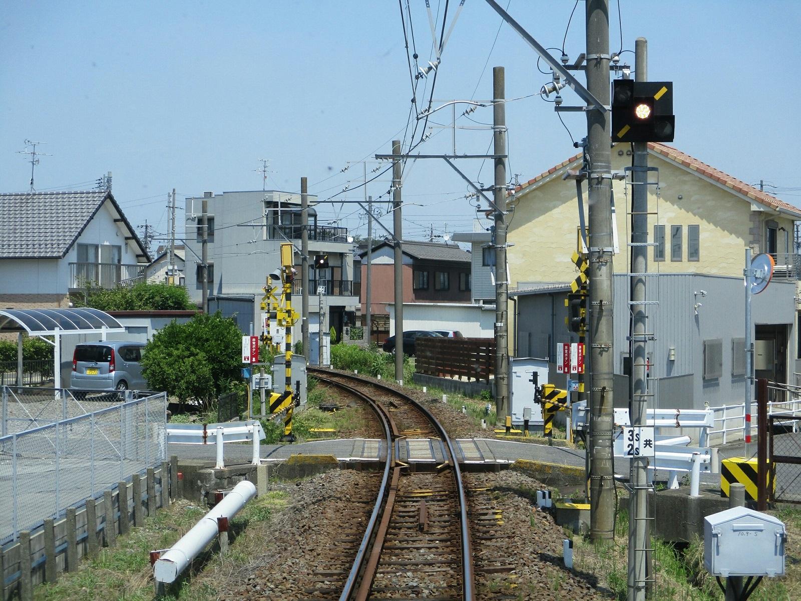 2018.7.18 (107) 笠松いきふつう - 新羽島-江吉良間 1600-1200
