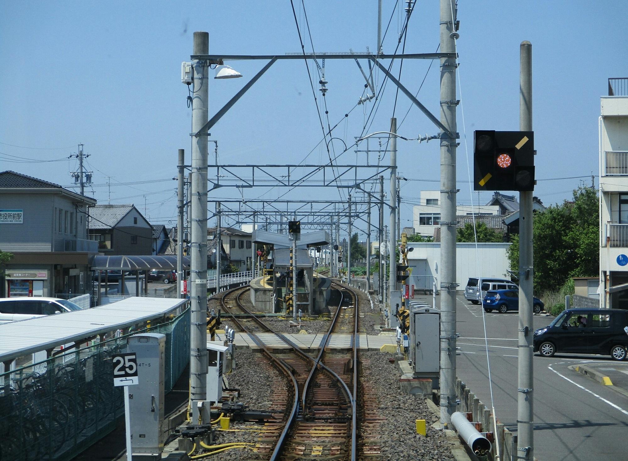 2018.7.18 (116) 笠松いきふつう - 羽島市役所前 2000-1470