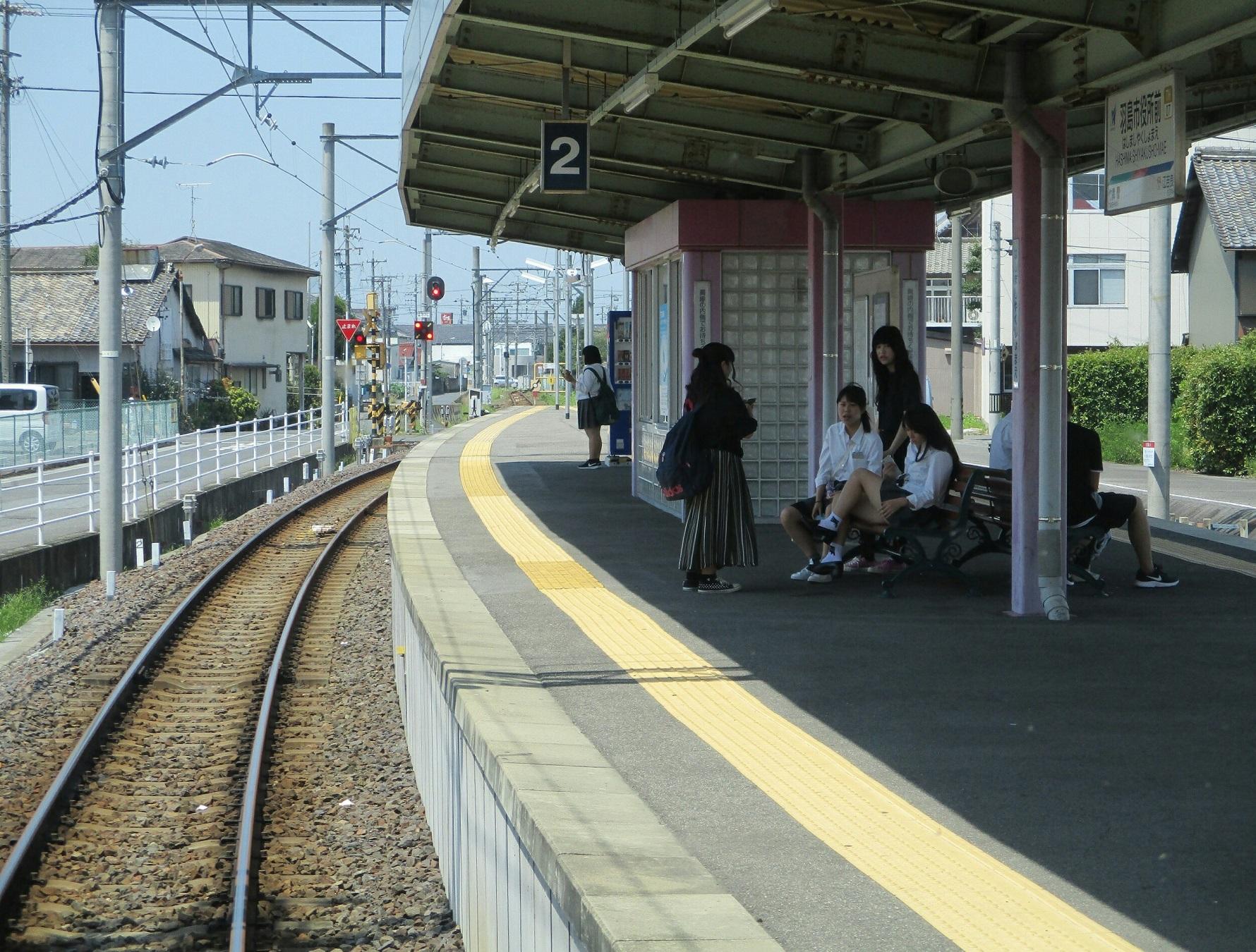 2018.7.18 (117) 笠松いきふつう - 羽島市役所前 1780-1350