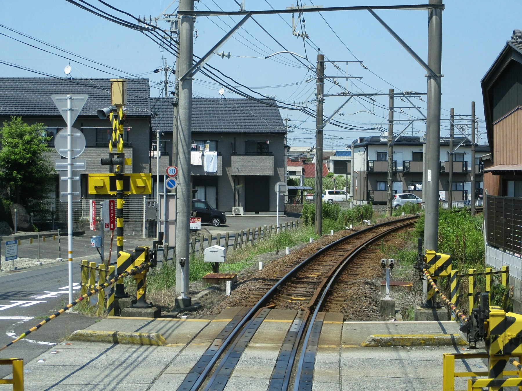 2018.7.18 (119) 笠松いきふつう - 羽島市役所前-竹鼻間 1800-1350