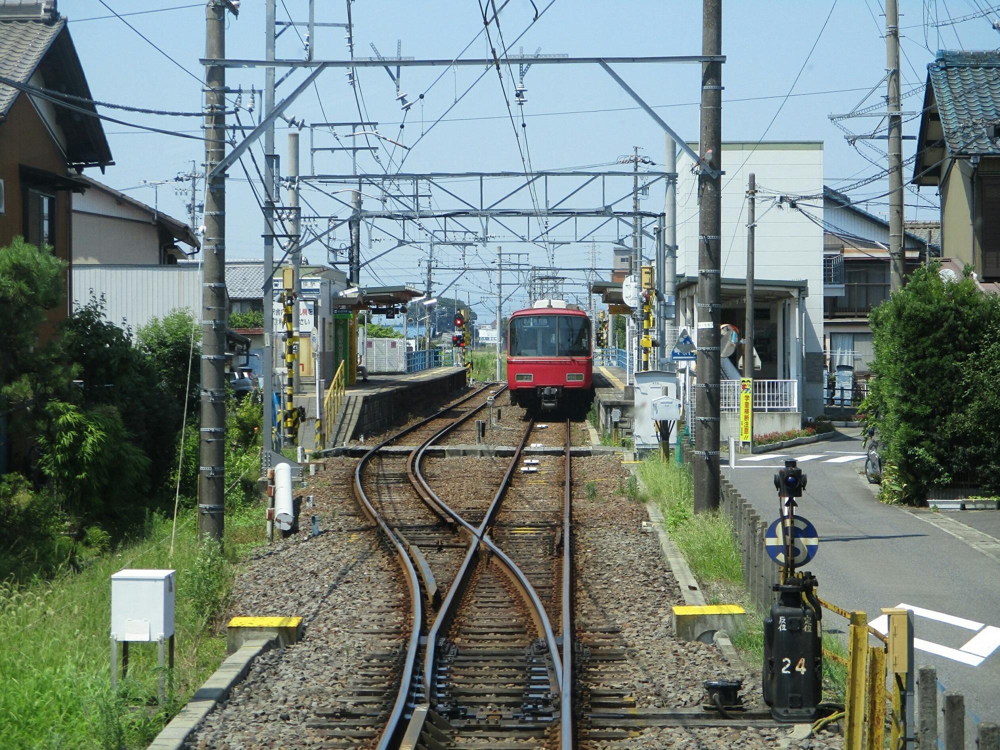 2018.7.18 (125) 笠松いきふつう - 南宿(新羽島いきふつう) 2000-1500