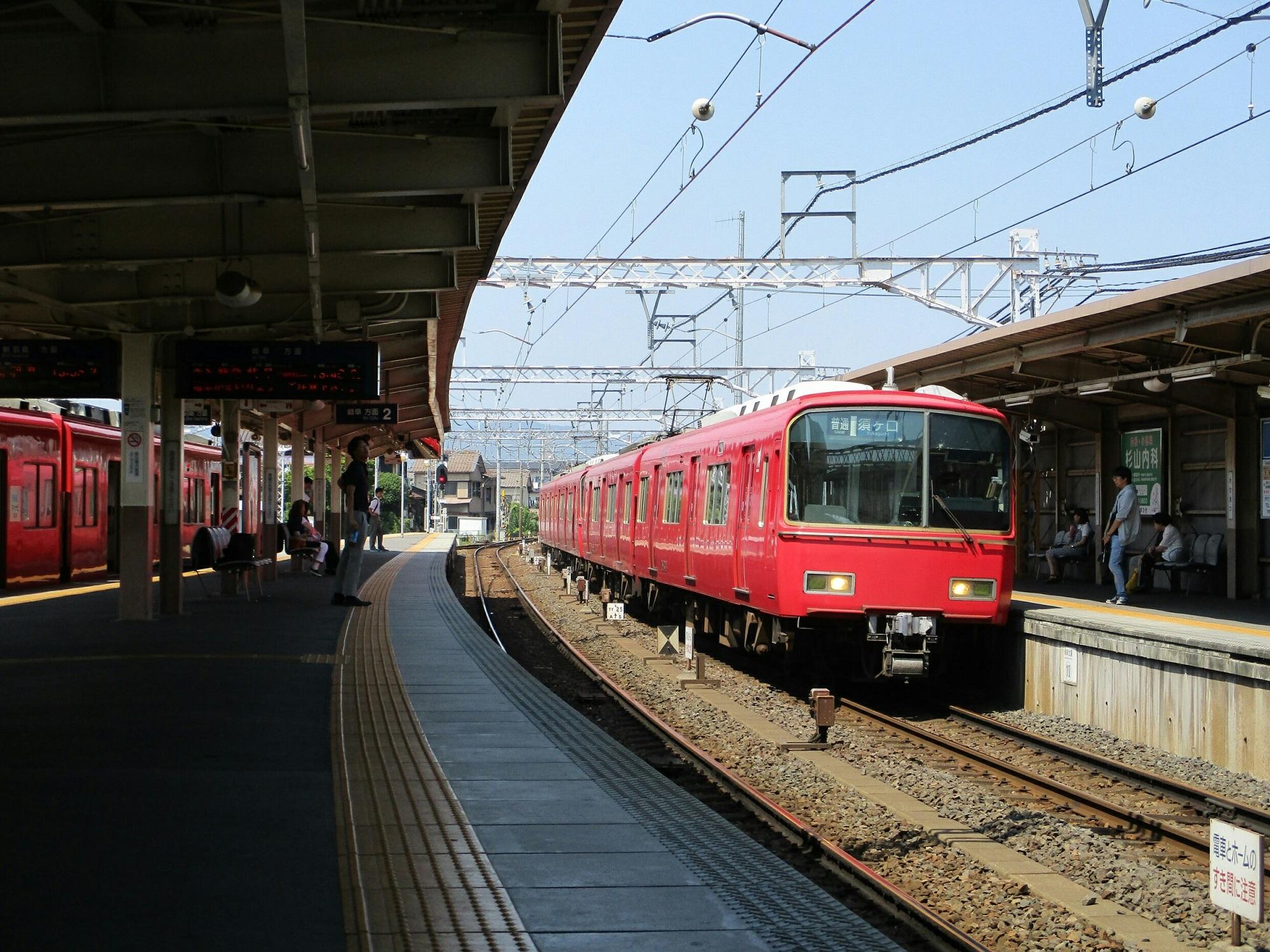 2018.7.18 (135) 笠松 - 須ヶ口いきふつう 2000-1500