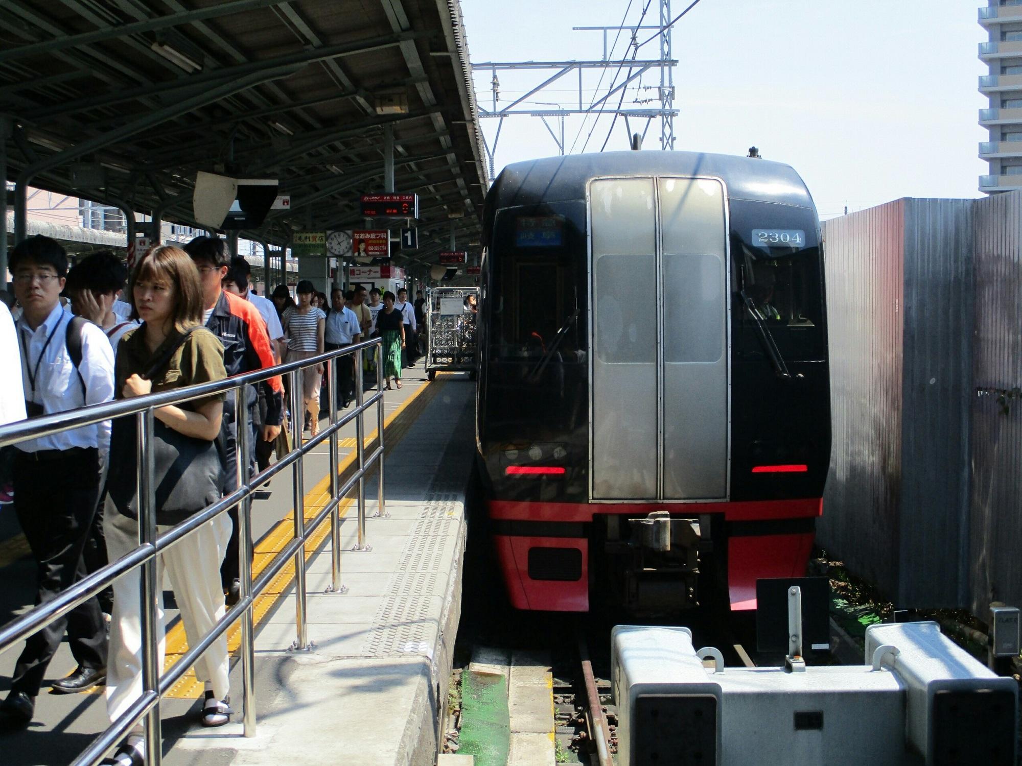 2018.7.18 (145) 岐阜 - 岐阜いき特急 2000-1500