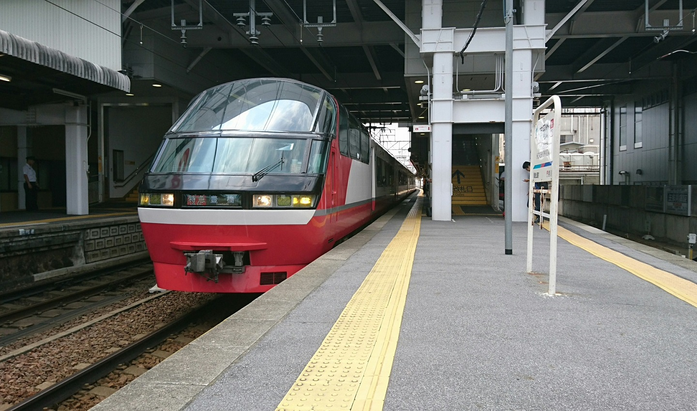 2018.7.19 (7い) 東岡崎 - 豊橋いき特急 1440-850
