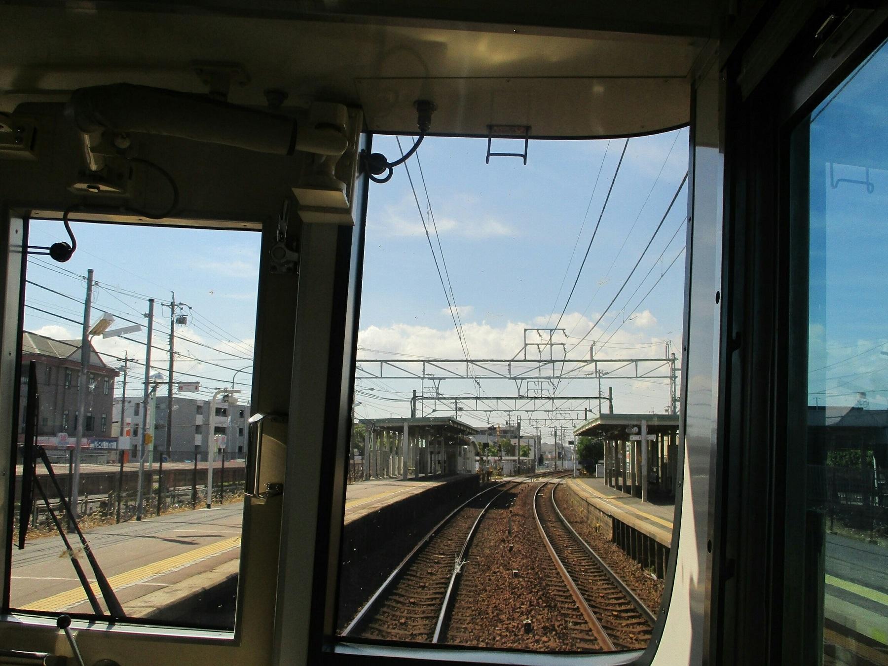 2018.7.21 (9) 一宮いき急行 - 一ツ木 1800-1350