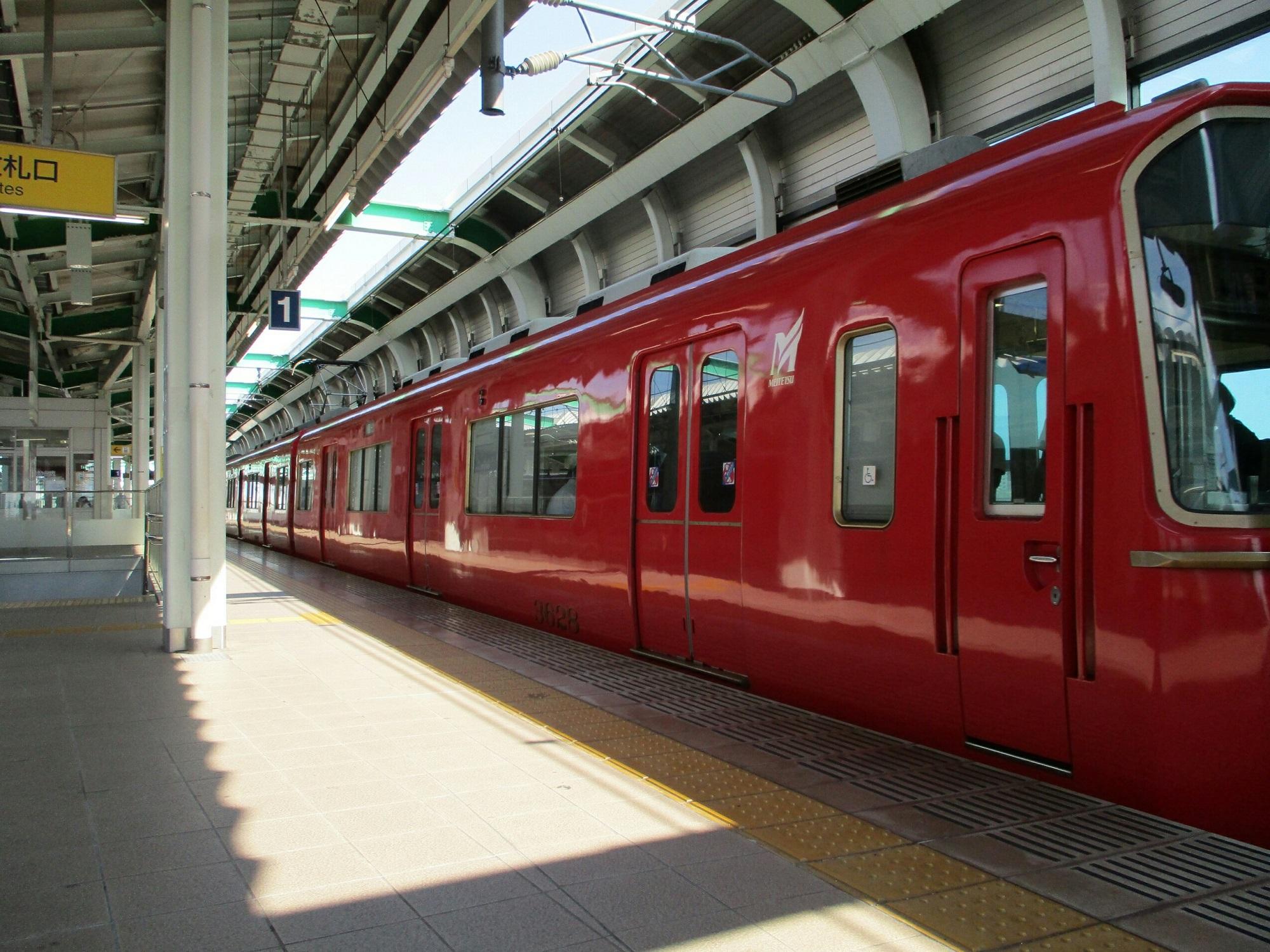2018.7.21 (21) 鳴海 - 一宮いき急行 2000-1500
