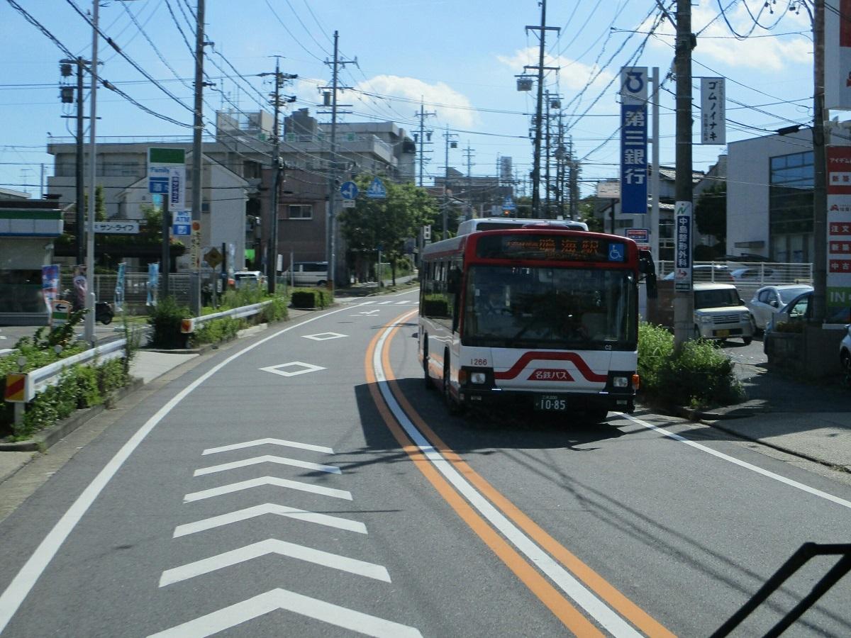 2018.7.21 (35) イオンモール大高いきバス - はんたいバス(名鉄バス) 1200-900