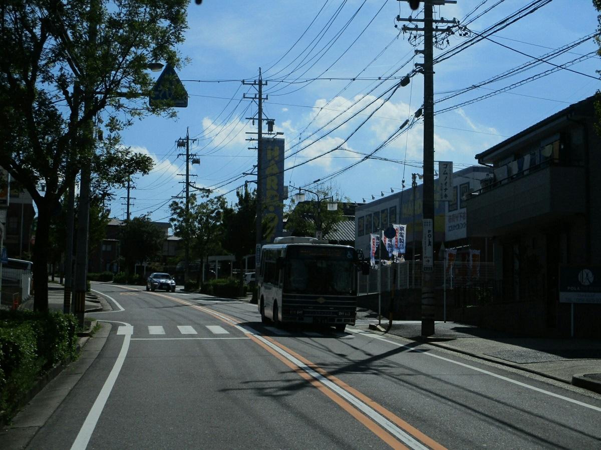 2018.7.21 (37) イオンモール大高いきバス - はんたいバス(市バス) 1200-900