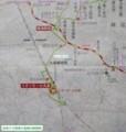 名鉄バス鳴海大高線の路線図(あきひこ) 1140-1200