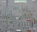 名鉄バス岩倉線の路線図(あきひこ) 775-680