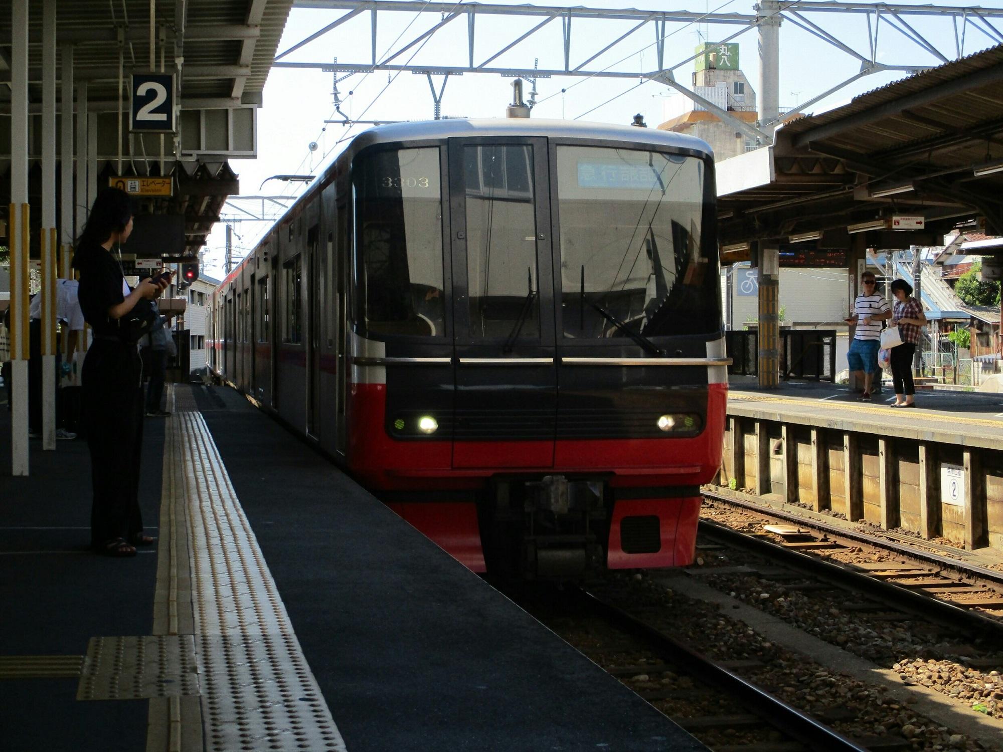 2018.7.23 (14) しんあんじょう - 吉良吉田いき急行 2000-1500