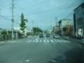 2018.7.25 (25) 市民病院いきバス - 日名西町交差点を右折 1200-900