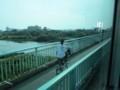2018.7.25 (29) 市民病院いきバス - 日名橋をわたる 2000-1500