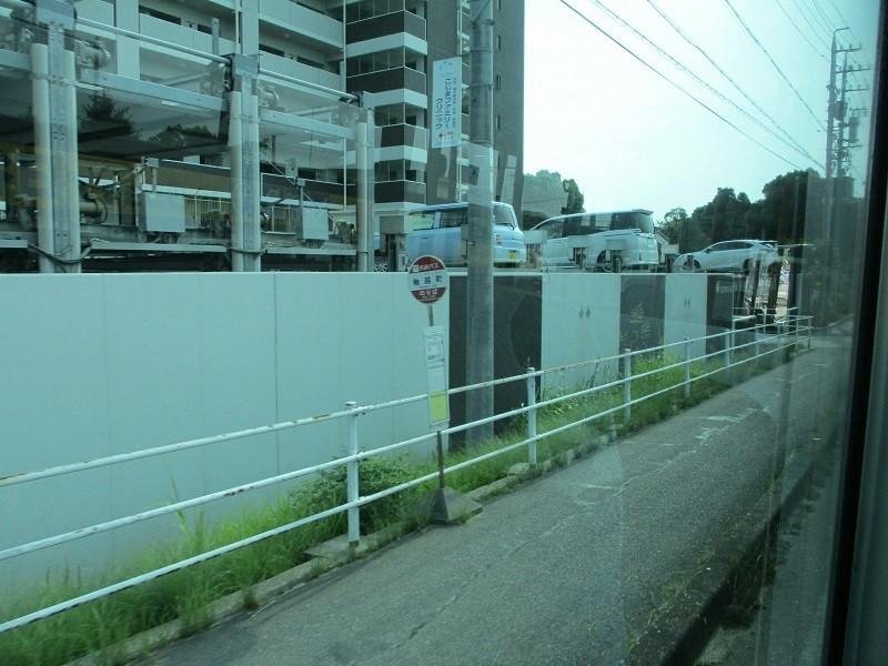 2018.7.25 (31) 市民病院いきバス - 舳越町(へごしちょう)バス停 800-600
