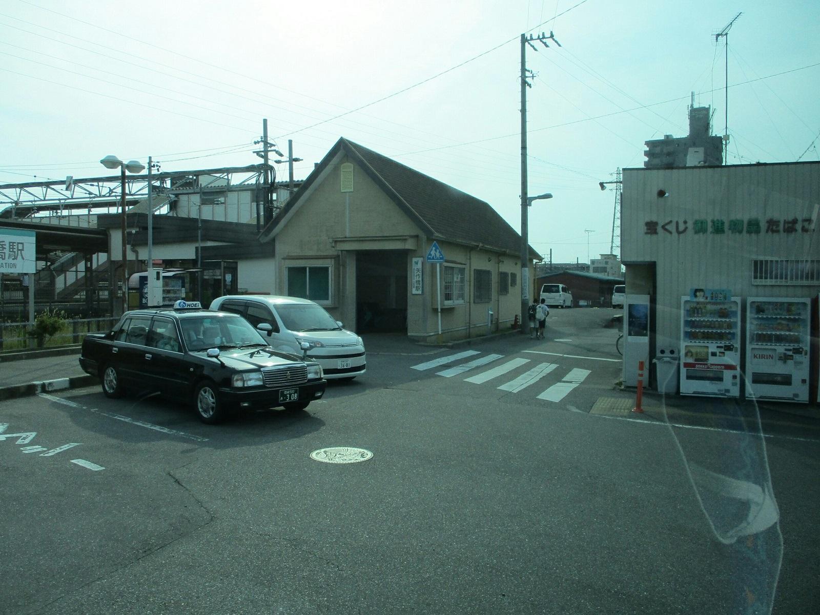 2018.7.25 (43) 市民病院いきバス - 矢作橋駅で右折 1200-900