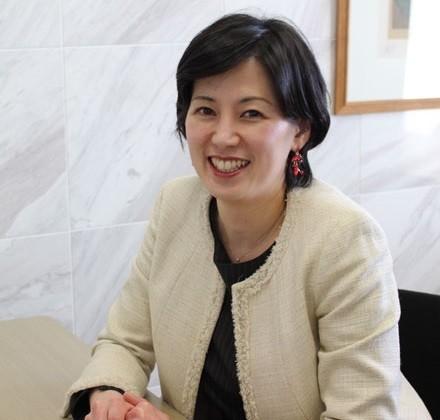 東横イン社長の黒田麻衣子さん 440-420