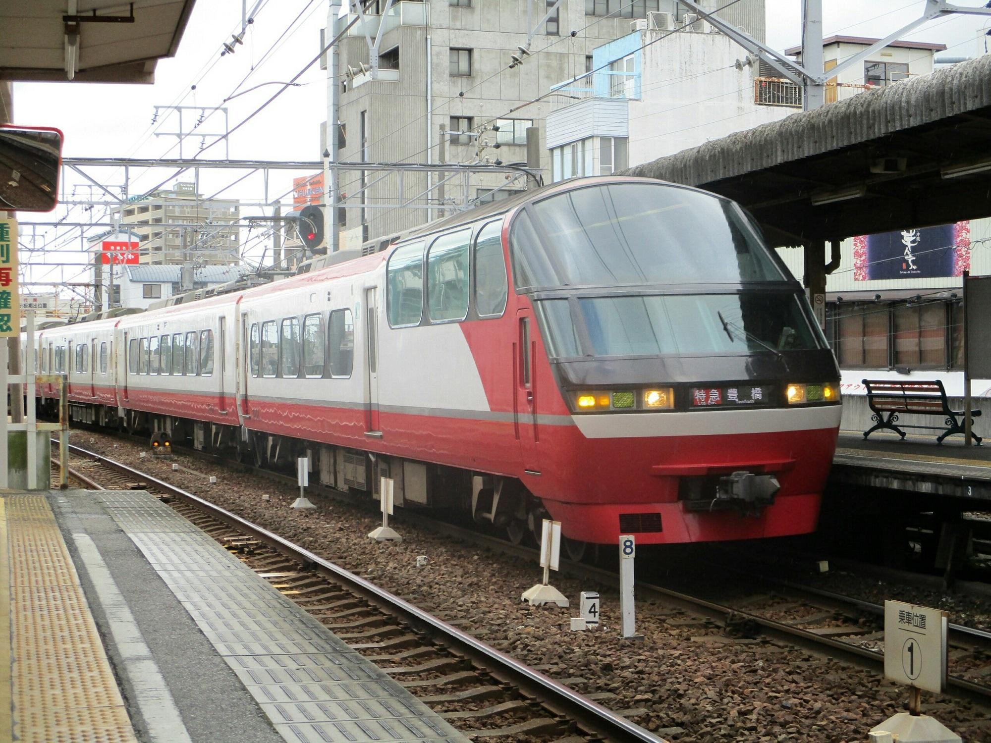 2018.7.29 (12) 東岡崎 - 豊橋いき特急 2000-1500