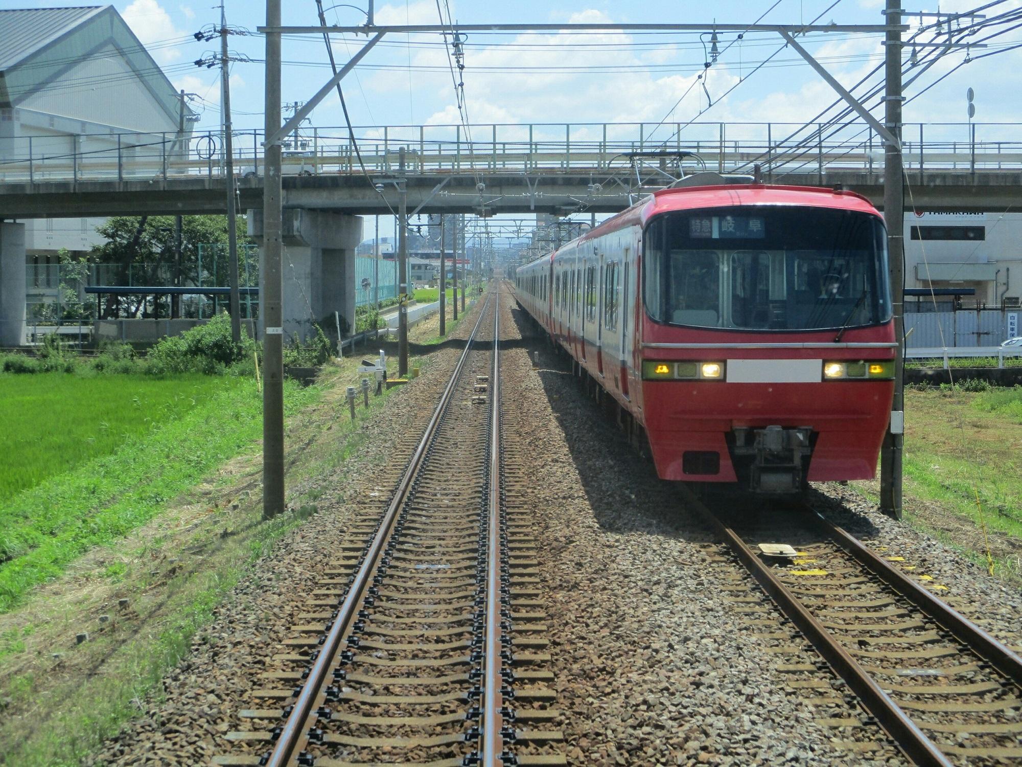 2018.7.31 (5) 東岡崎いきふつう - 宇頭-矢作橋間(岐阜いき特急) 2000-1500