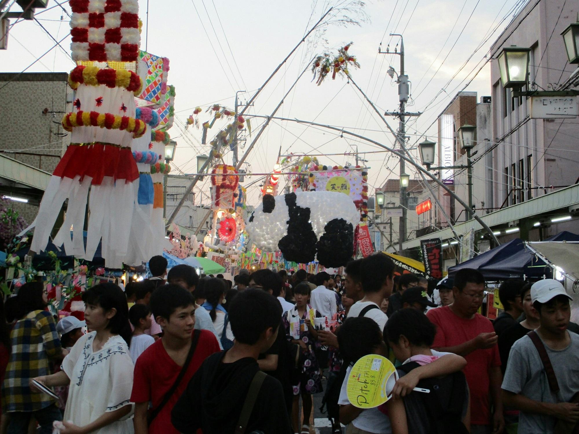 2018.8.4 (10) あんじょうたなばたまつり - 朝日町どおり 2000-1500