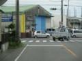 2018.8.7 (34) 西岡崎駅いきバス - 矢作町橋塚交差点を右折 1200-900