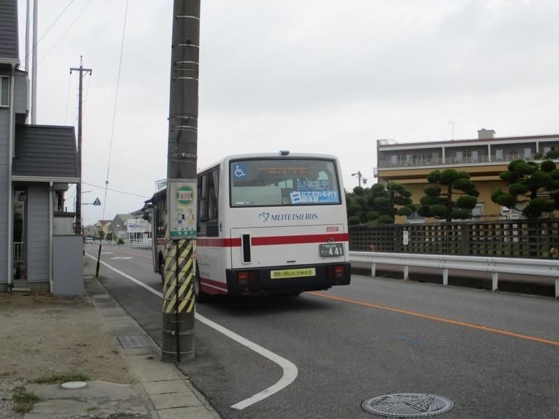 2018.8.7 (37) 北筒針バス停 - 西岡崎駅いきバス 1200-900