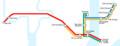 パストレインの路線図(ヰキペディア) 650-250