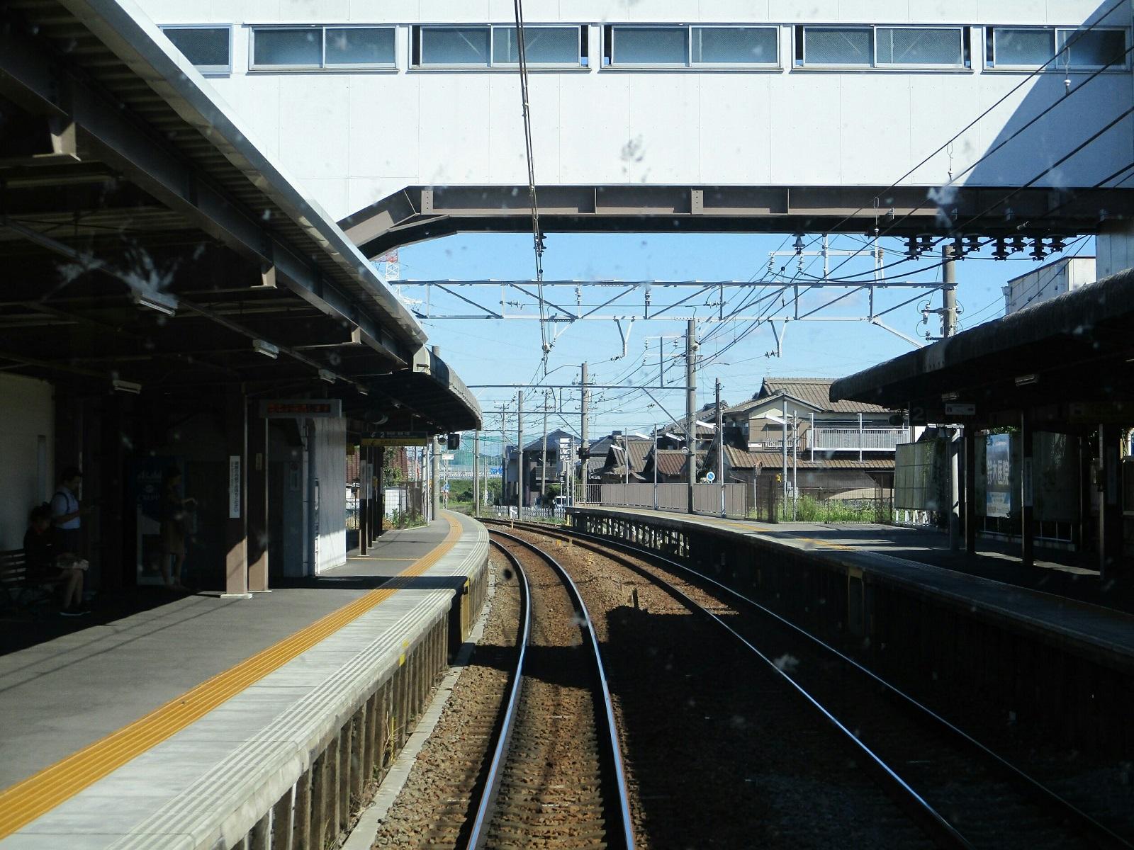 2018.8.9 (11) 須ヶ口いき特急 - 富士松 1600-1200