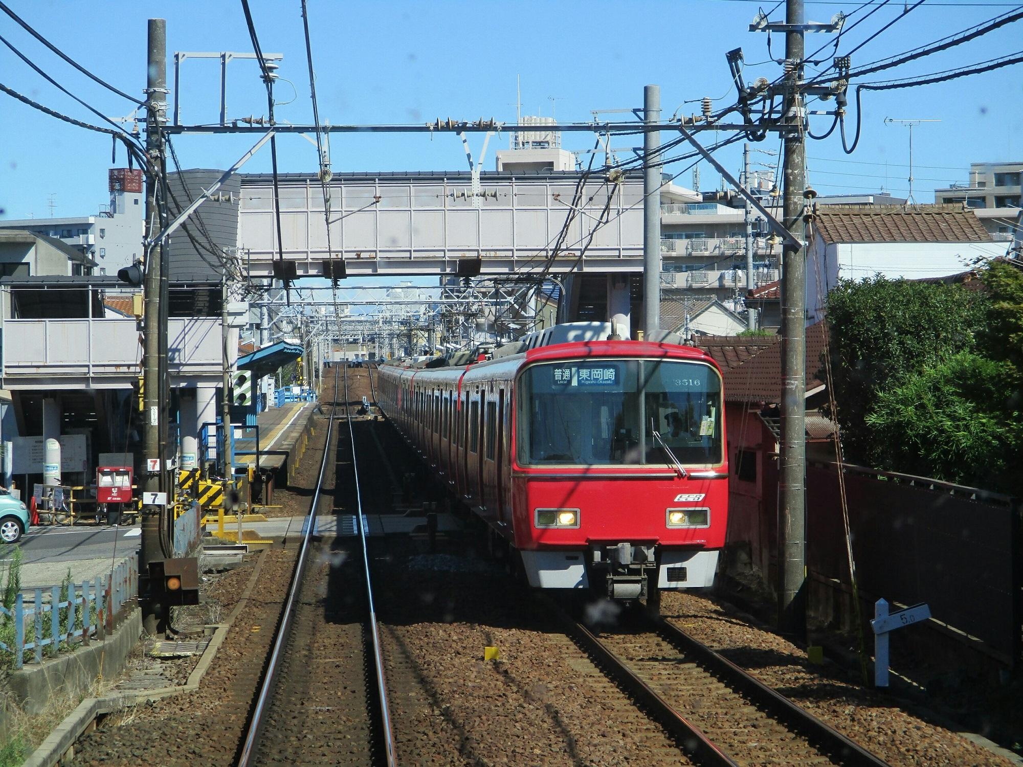 2018.8.9 (26) 須ヶ口いき特急 - 呼続(東岡崎いきふつう) 2000-1500