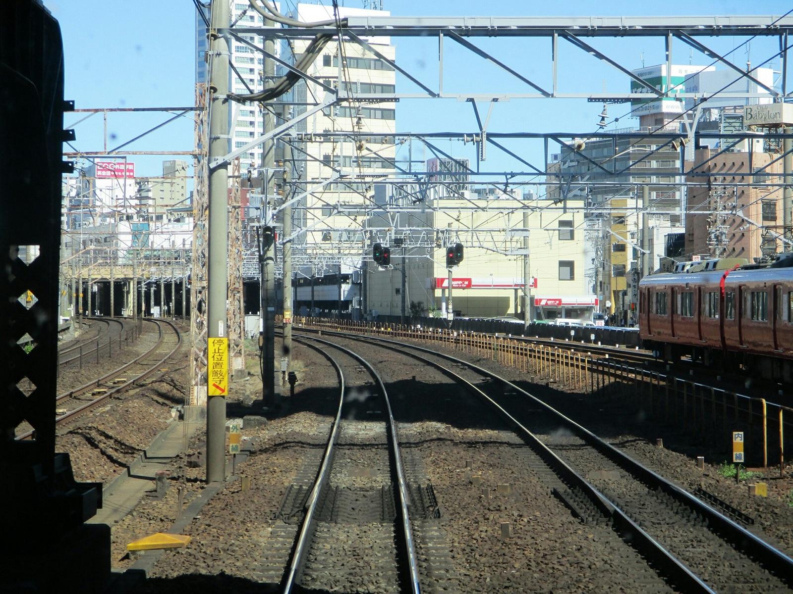 2018.8.9 (30) 須ヶ口いき特急 - 金山てまえ(東岡崎いきふつう) 1600-1200