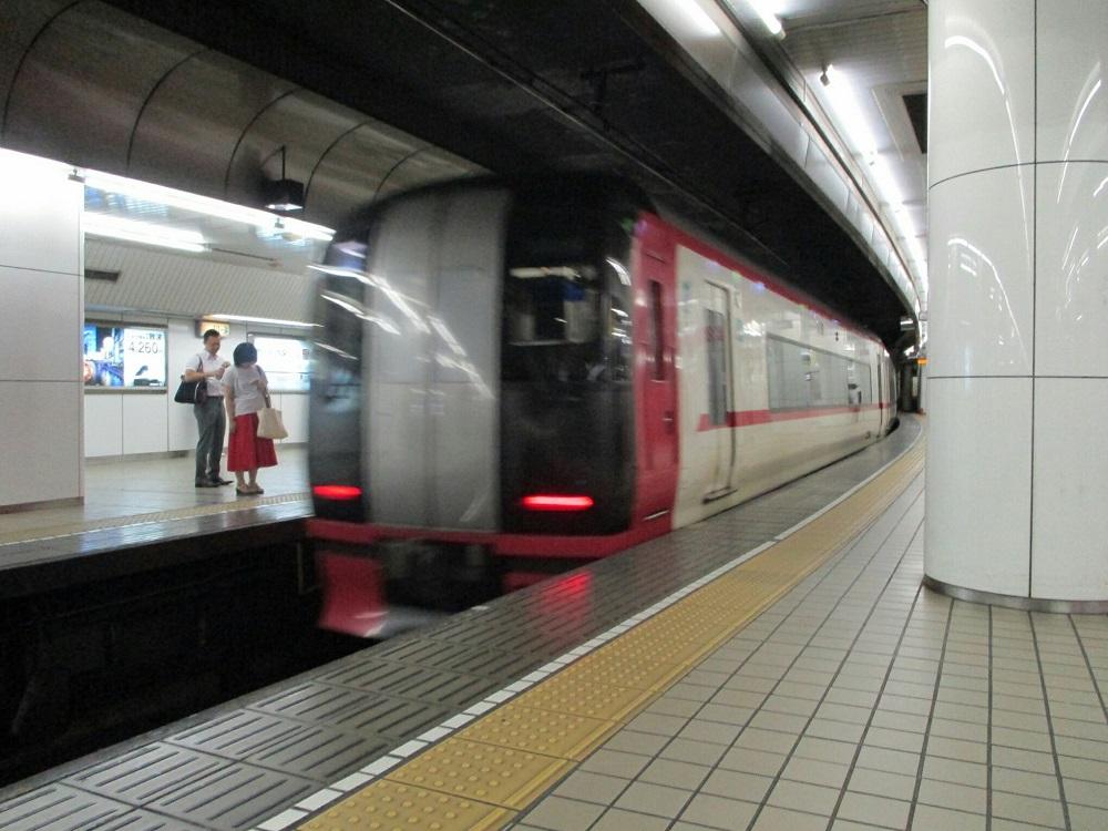 2018.8.9 (37) 名古屋 - 須ヶ口いき特急(うしろ) 1000-750