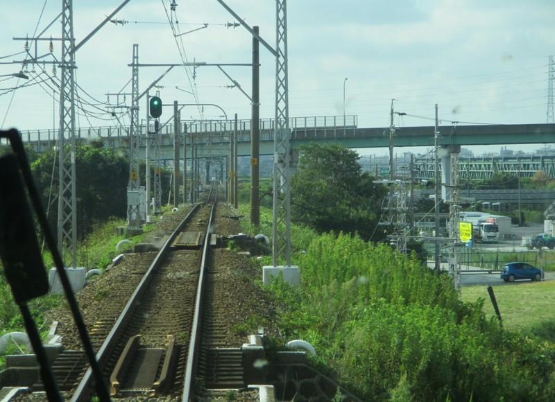 2018.8.10 (6) 豊橋いき特急 - 平井信号場 1600-1160