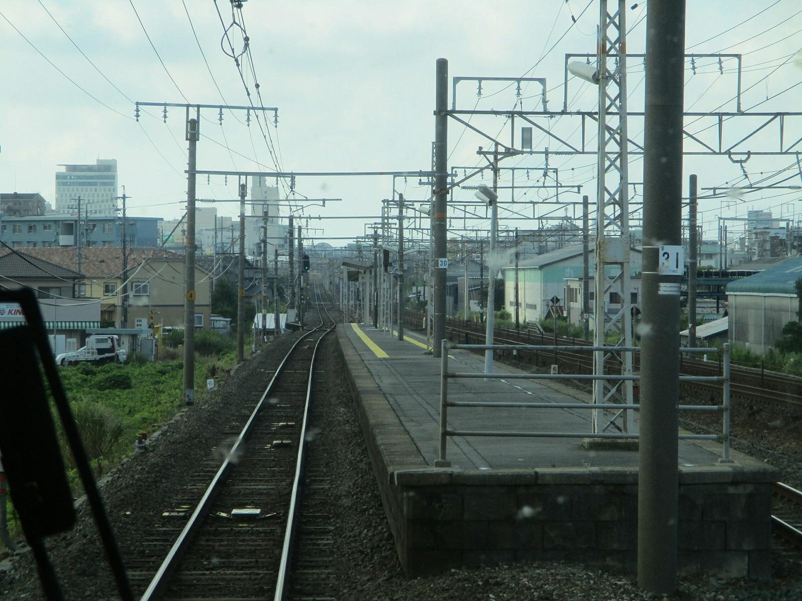 2018.8.10 (12) 豊橋いき特急 - 船町 1600-1200