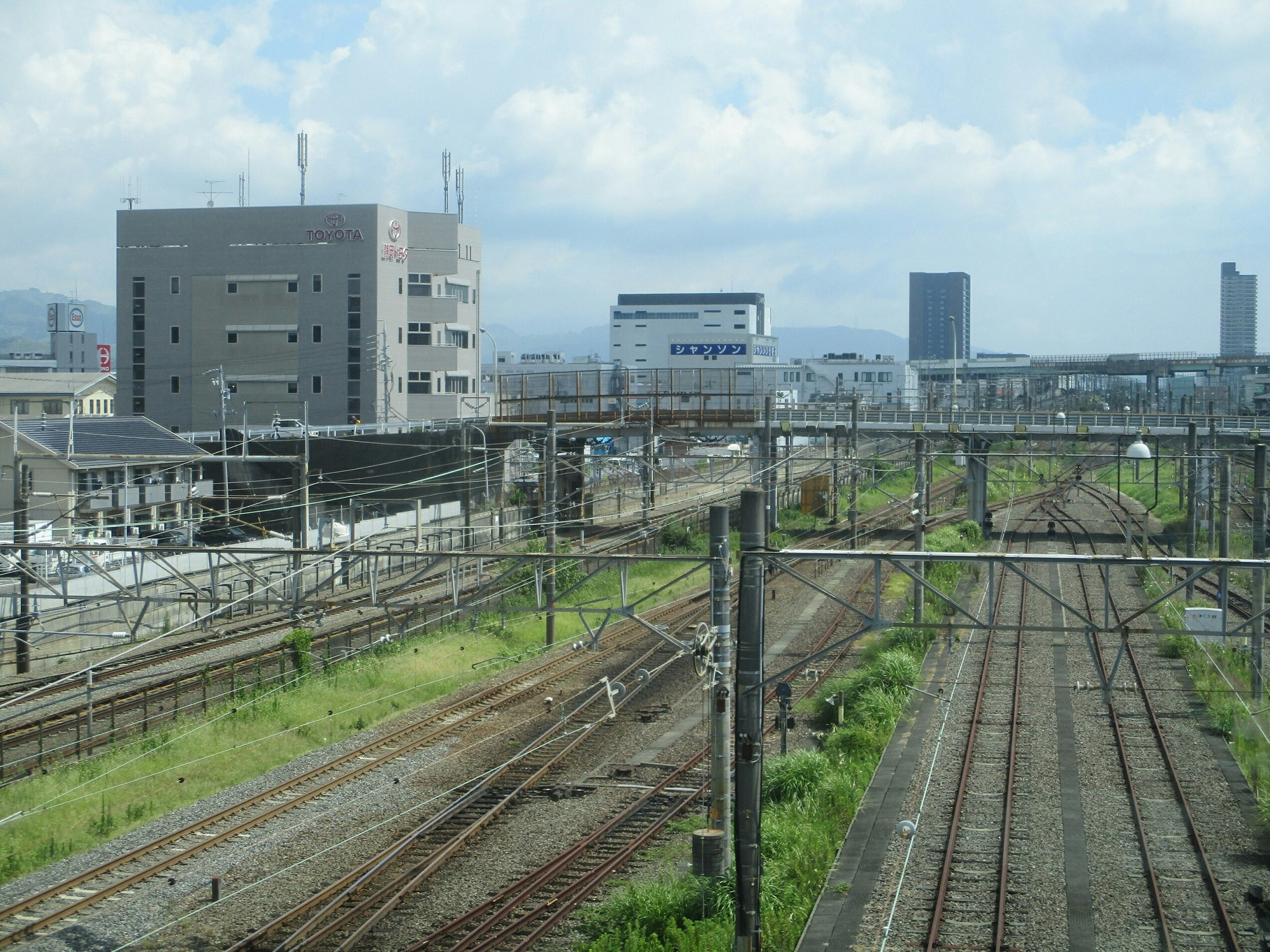 2018.8.10 (54) 新清水いきふつう - 古庄-県総合運動場間(東海道線ごえ) 2000-1500