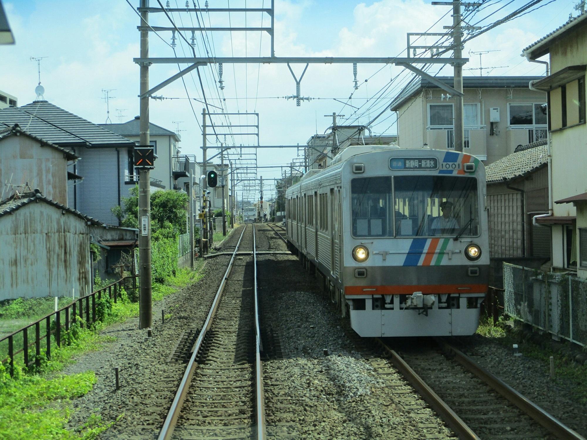 2018.8.10 (63) 新清水いきふつう - 草薙-御門台間(新静岡いきふつう) 2000-1500