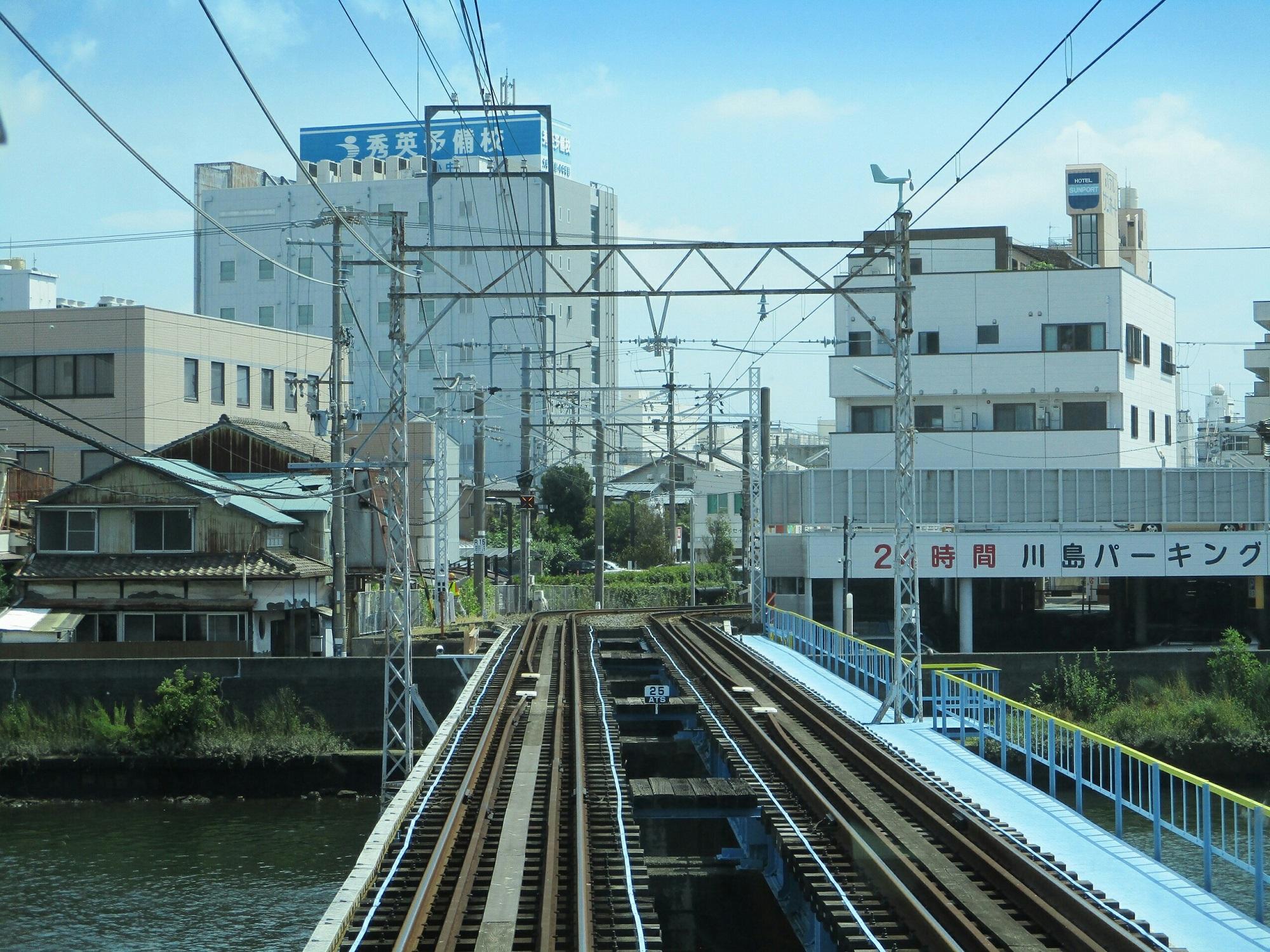 2018.8.10 (79) 新清水いきふつう - 入江岡-新清水間(巴川) 2000-1500
