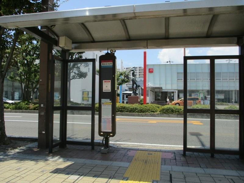 2018.8.10 (88) 清水区役所バス停 2000-1500