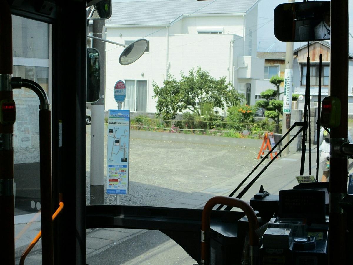 2018.8.10 (107) 東海大学三保水族館いきバス - 三保松原入口バス停 1200-900