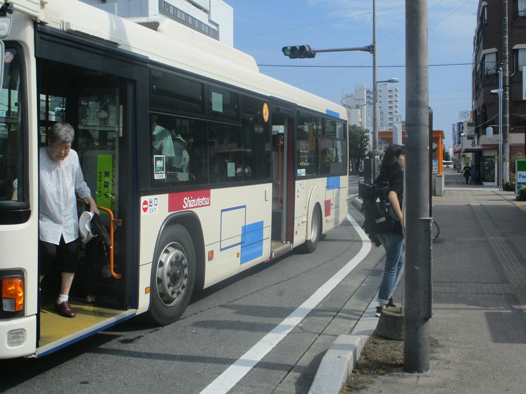 2018.8.10 (126) 新清水駅 - 清水駅いきバス 1800-1350