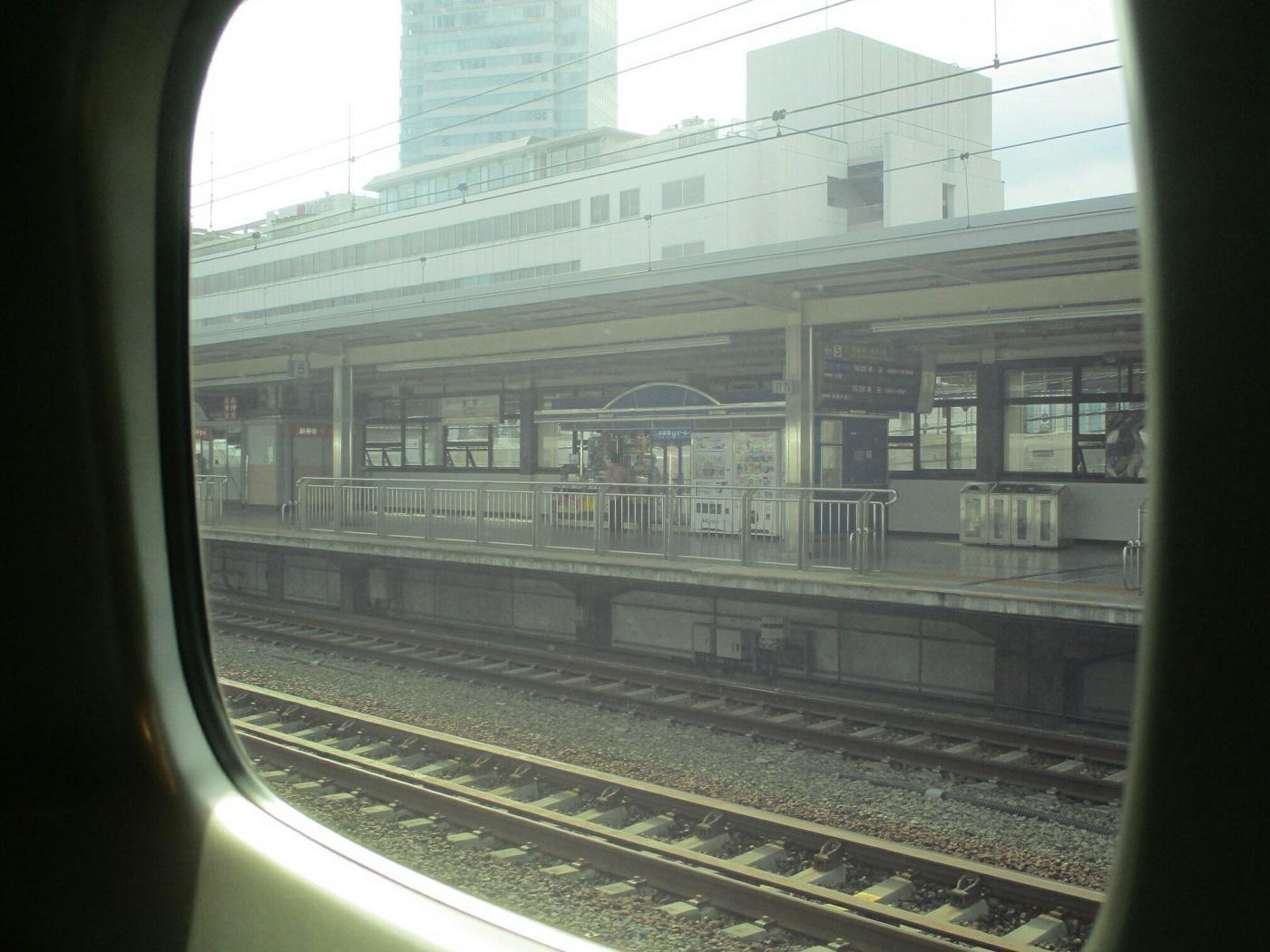 2018.8.10 (140) 名古屋いきこだま663号 - 静岡 1400-1050